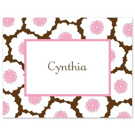 Pink Blossom Note Card