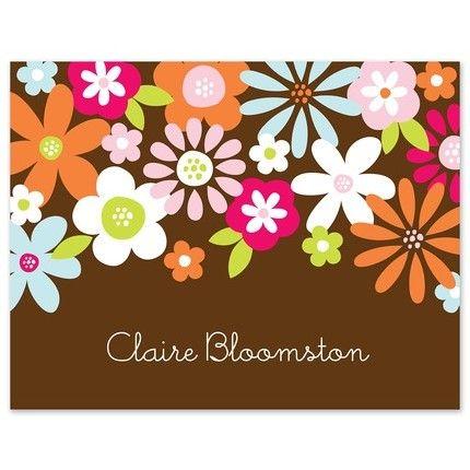 Falling Garden Note Card