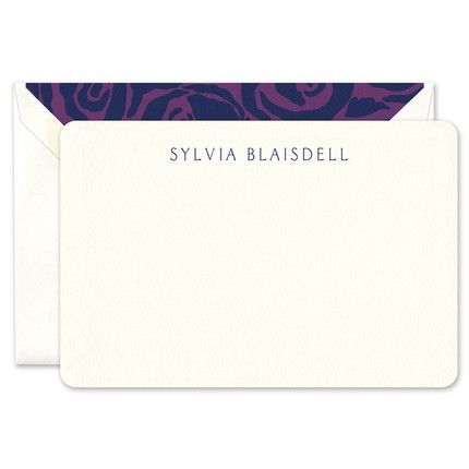 Rounded Corner Flat Card
