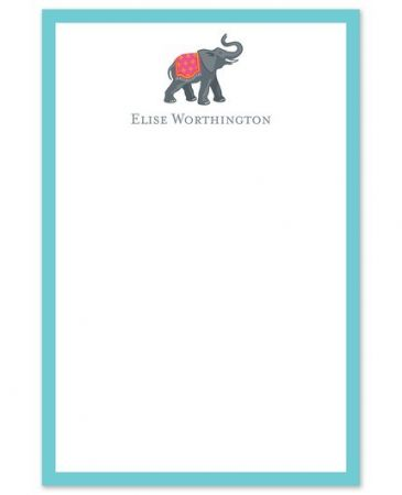 Elephant Note Pad