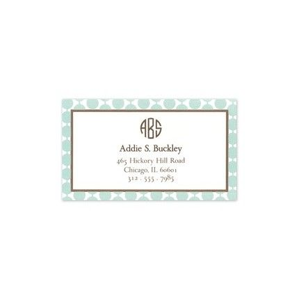 Blue Pearls Business Card