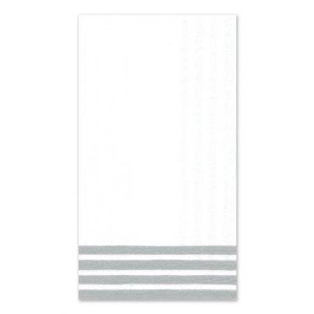 Silver Stripe Guest Napkin
