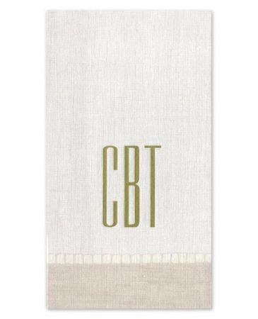 Natural Linen Guest Napkin