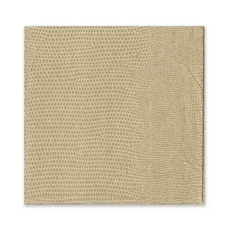 Gold Lizard Cocktail Napkin