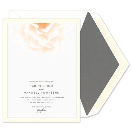 Rose Invitation