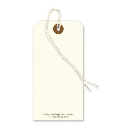 Oak Tree Gift Tag