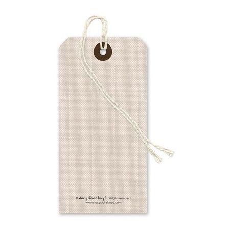 Natural Linen Gift Tag