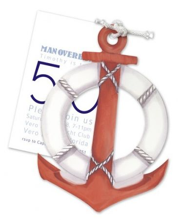 Nautical Anchor Invitation