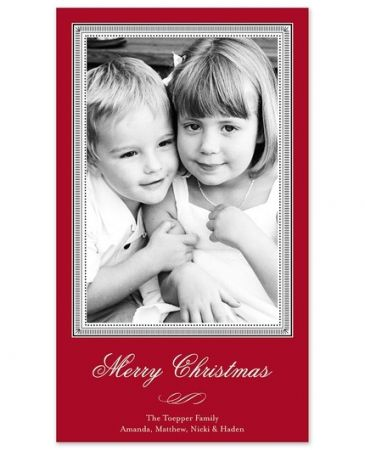 Christmas Story Photo Card
