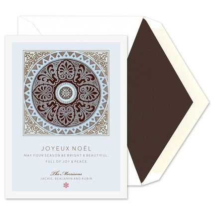 Medallion Greeting Card