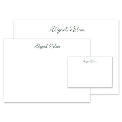 White Stationery Set