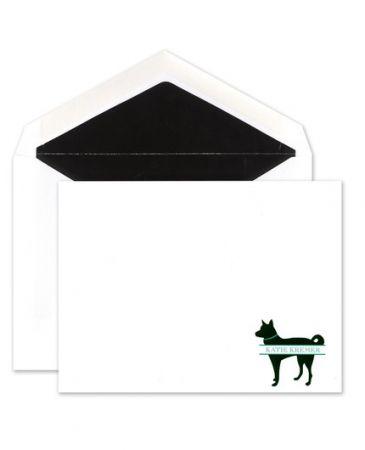 Husky Flat Card