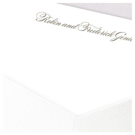 Romance Flat Card