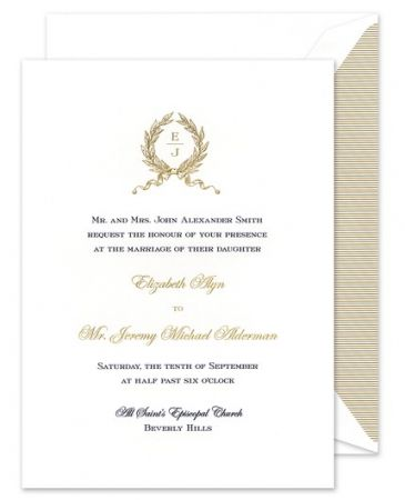 Officer's Ball Invitation
