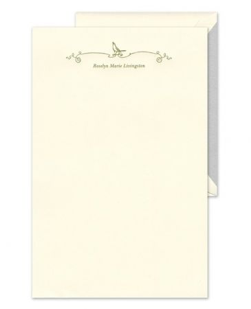 Singing Bird Letterhead