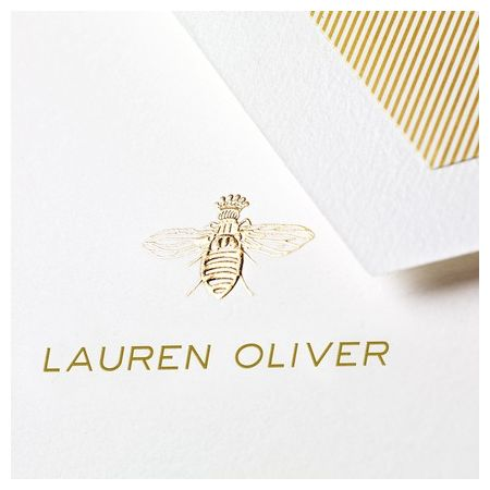 Queen Bee Note Card
