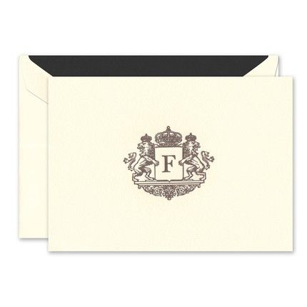 Regal Ecru Note Card