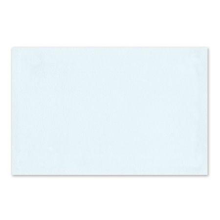 Blue Swirl Frame Flat Card