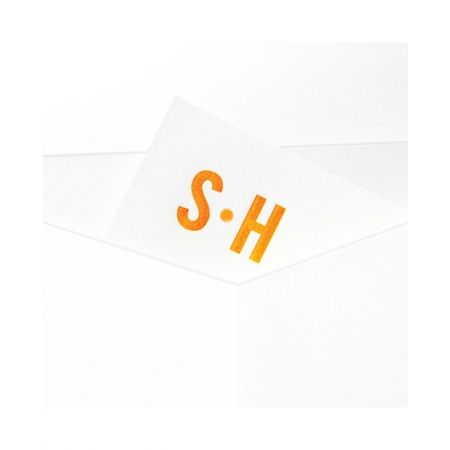 Modern White Letterhead