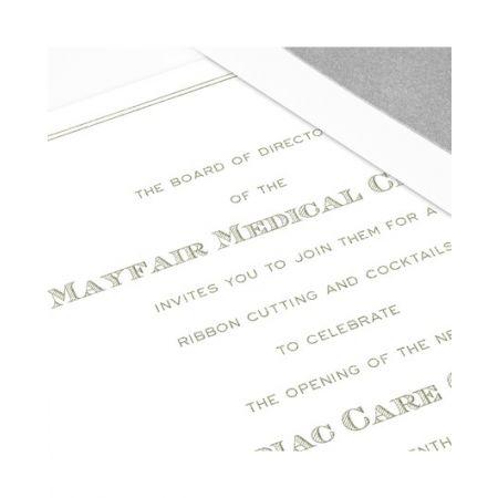 Majestic Frame Invitation