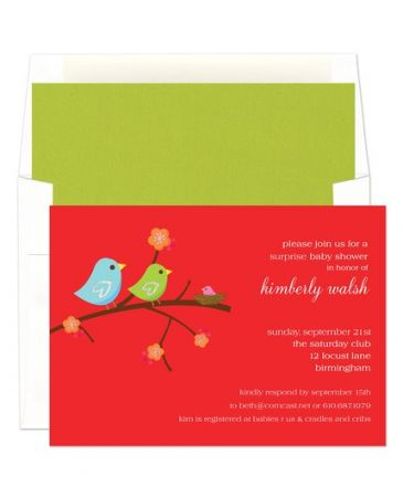 Birdie Invitation