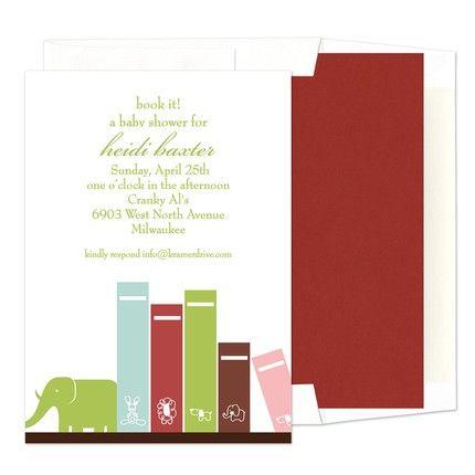 Green Books Flat Card