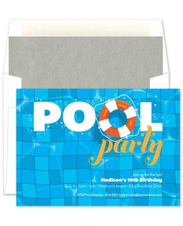 Pool Buoy Invitation