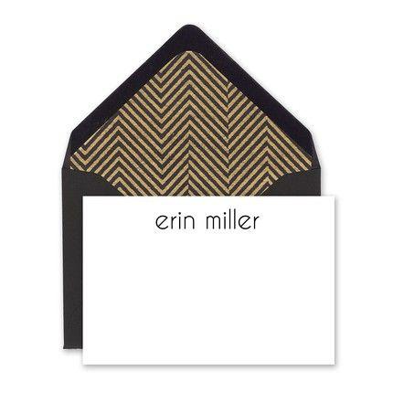 Art Deco Enclosure Card
