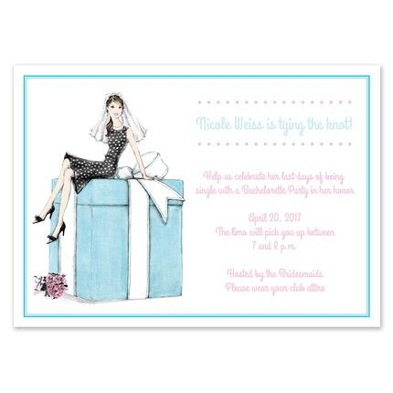 Bride & Box Invitation