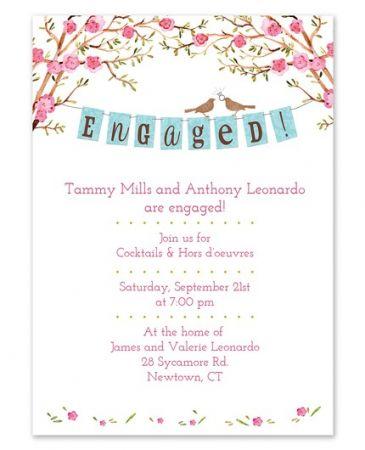 Engaged Banner Invitation