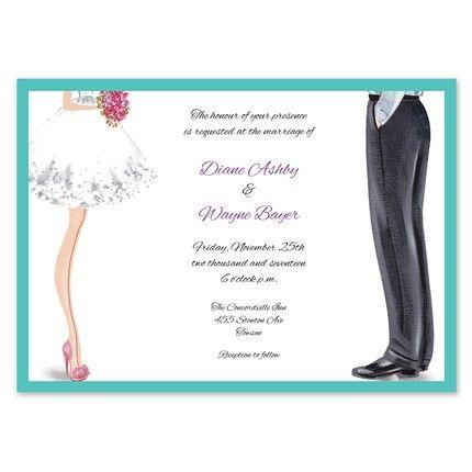 Chic Couple Invitation