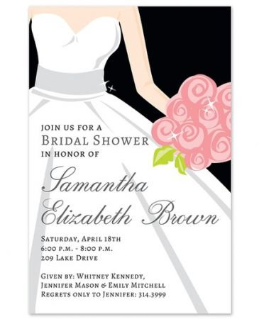 Bride Glow Invitation