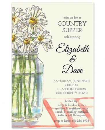 Country Table Invitation