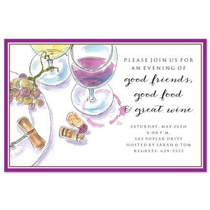 Wine Setting Invitation