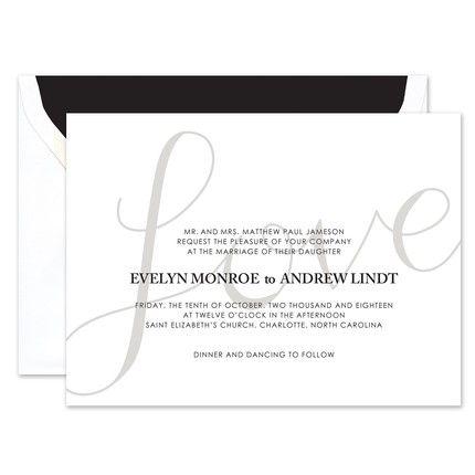 Love Script Invitation