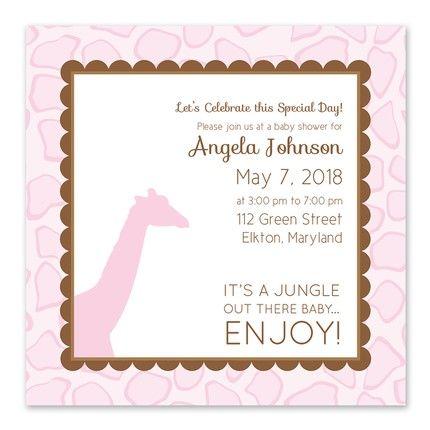 It's a Jungle Invitation