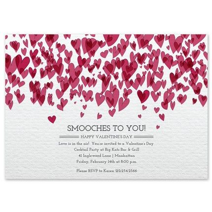Smooches Invitation