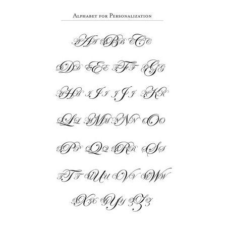Calligraphic Stamp