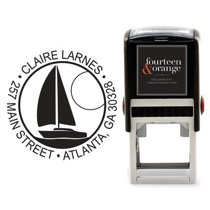 Sailboat Stamp