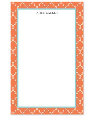 Opulent Orange Note Pad