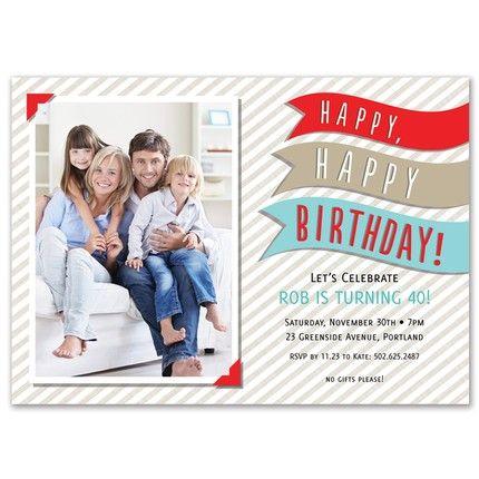 Happy Happy Invitation