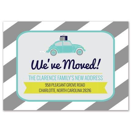 Moving Bug Invitation