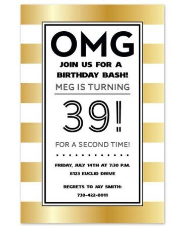 OMG Invitation