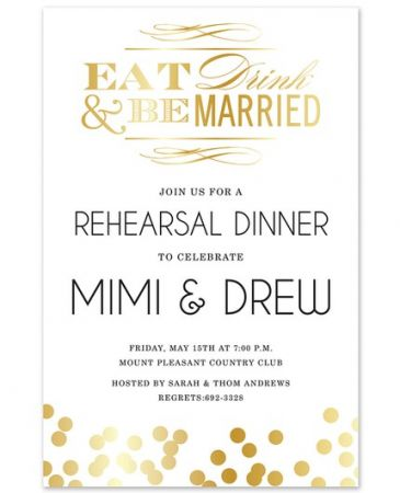 Be Married Invitation