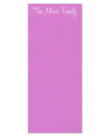 Skinny Sour Grape Note Pad