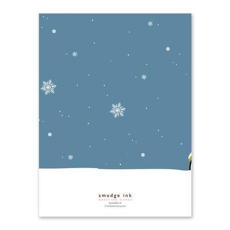 Snowy Bike Greeting Card