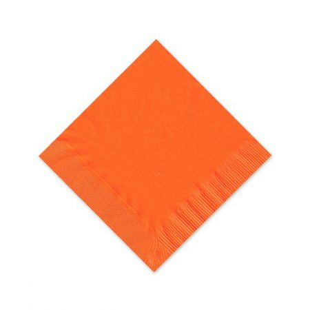Orange Beverage Napkin