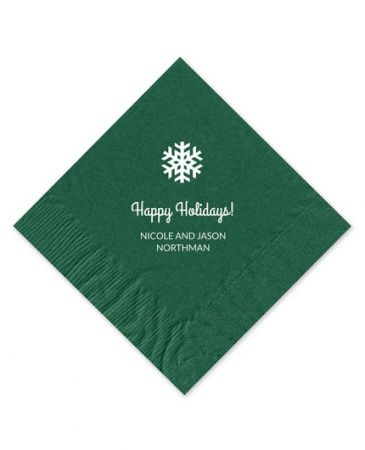 Forest Beverage Napkin