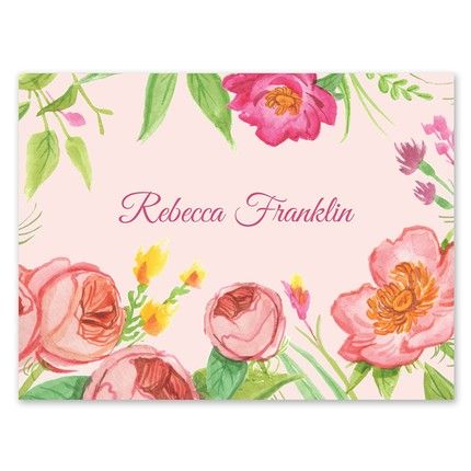 Bridal Blossoms Note Card
