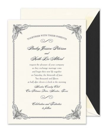 Vintage Frame Invitation